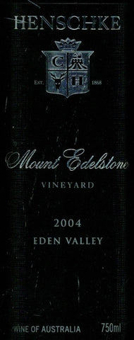 Henschke Mount Edelstone Shiraz 2004 750ml, Eden Valley