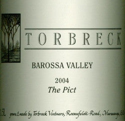 Torbreck The Pict Mataro 2004 1.5L, Barossa Valley