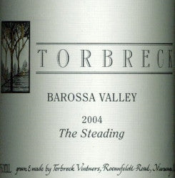Torbreck The Steading Grenache Shiraz Mourvedre 2004 750ml, Barossa Valley