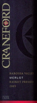 Craneford  Merlot 2005 750ml, Barossa Valley