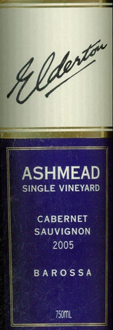 Elderton Ashmead Cabernet Sauvignon 2004 750ml, Barossa Valley