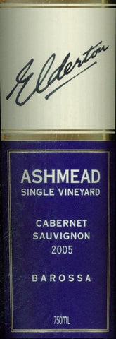 Elderton Ashmead Cabernet Sauvignon 2005 750ml, Barossa Valley