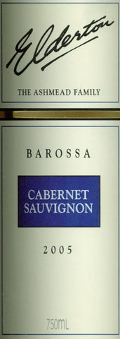 Elderton Cabernet Sauvignon 2005 750ml, Barossa Valley