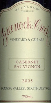 Greenock Creek Cabernet Sauvignon 2005 750ml, Barossa Valley