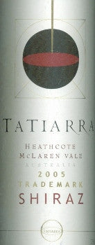 Tatiarra Trademark Shiraz 2005 750ml, Heathcote