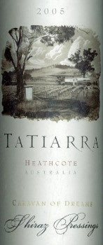 Tatiarra Caravan of Dreams Shiraz 2005 750ml, Heathcote