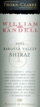 Thorn Clarke William Randell Shiraz 2005 750ml, Barossa Valley