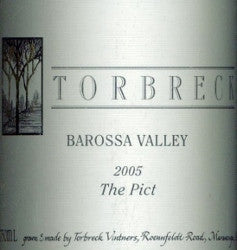 Torbreck The Pict Mataro 2005 750ml, Barossa Valley
