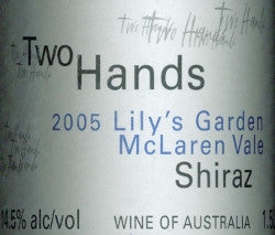 Two Hands Lily's Garden Shiraz 2005 magnum 1500ml, McLaren Vale