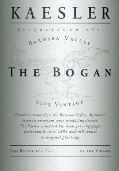 Kaesler The Bogan Shiraz 2006 3L, Barossa Valley