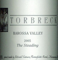 Torbreck The Steading Grenache Shiraz Mourvedre 2005 750ml, Barossa Valley