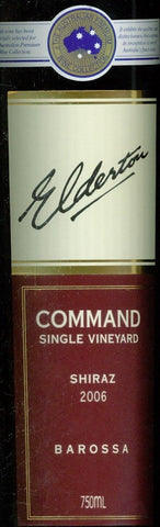 Elderton Command Shiraz 2006 750ml, Barossa Valley