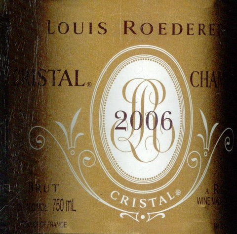 Louis Roederer Cristal Brut 2006 750ml, Champagne - Gift Boxed