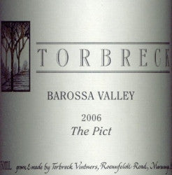 Torbreck The Pict Mataro 2006 750ml, Barossa Valley