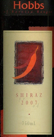 Hobbs Estate Shiraz 2007 750ml, Barossa Valley