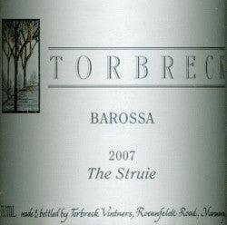 Torbreck The Struie Shiraz 2007 750ml, Barossa Valley