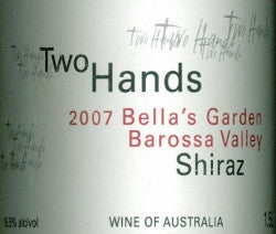 Two Hands Bella's Garden Shiraz 2007 Imperial 6L, Barossa Valley