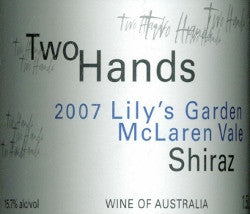 Two Hands Lily's Garden Shiraz 2007 Double Magnum 3L, McLaren Vale