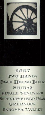 Two Hands Coach House Block Shiraz 2007 1.5L, Barossa Valley