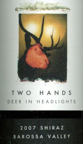 Two Hands Deer in Headlights Shiraz 2007 750ml, Barossa Valley