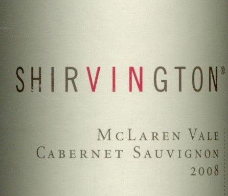 Shirvington Estate Cabernet Sauvignon 2008 1.5L, McLaren Vale
