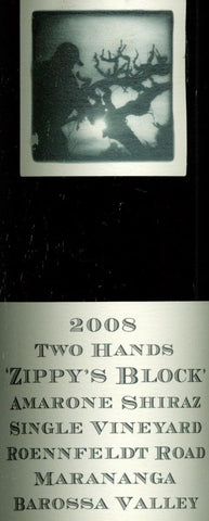 Two Hands Zippy's Block Amarone Shiraz 2008 750ml, Barossa Valley