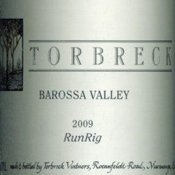 Torbreck RunRig Shiraz 2009 750ml, Barossa Valley