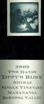 Two Hands Zippy's Block Shiraz 2009 1.5L, Barossa Valley