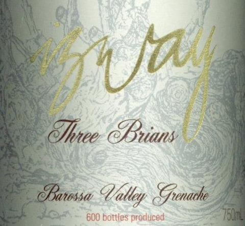 Izway Three Brians Grenache 2009 750ml, Barossa Valley