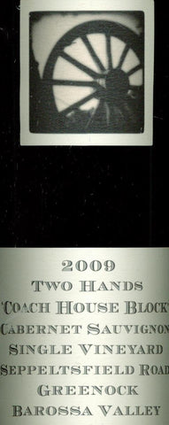 Two Hands Coach House Block Cabernet Sauvignon 2009 750ml, Barossa Valley