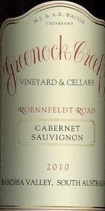 Greenock Creek Roennfeldt Road Cabernet Sauvignon 2010 750ml, Barossa Valley
