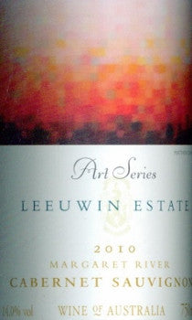 Leeuwin Estate Art Series Cabernet Sauvignon 2010 750ml, Margaret River