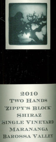 Two Hands Zippy's Block Shiraz 2010 750ml, Barossa Valley