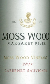 Moss Wood Cabernet Sauvignon 2011 750ml, Margaret River