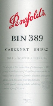 Penfolds Bin 389 Cabernet Sauvignon Shiraz 2011 750ml, South Australia