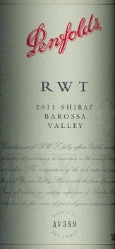 Penfolds RWT Shiraz 2011 750ml, Barossa Valley