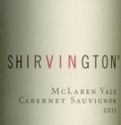 Shirvington Cabernet Sauvignon 2011 750ml, McLaren Vale