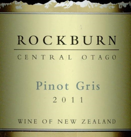 Rockburn Pinot Gris 2011 750ml, Central Otago