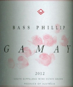 Bass Phillip Gamay 2012 750ml, Gippsland