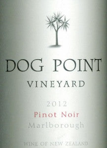 Dog Point Pinot Noir 2012 750ml, Marlborough