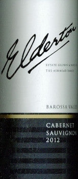 Elderton Estate Cabernet Sauvignon 2012 750ml, Barossa Valley