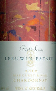 Leeuwin Estate Art Series Chardonnay 2012 750ml, Margaret River