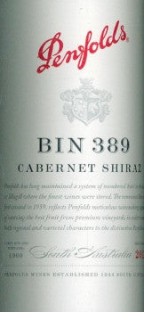 Penfolds Bin 389 Cabernet Sauvignon Shiraz 2012 750ml, South Australia