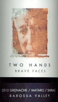 Two Hands Brave Faces Grenache Mataro Shiraz 2012 750ml, Barossa Valley