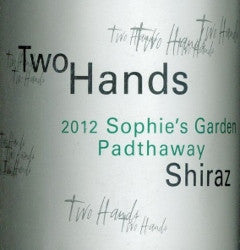 Two Hands Sophies Garden  Shiraz 2012 750ml, Padthaway