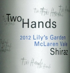 Two Hands Lily's Garden  Shiraz 2012 750ml, McLaren Vale