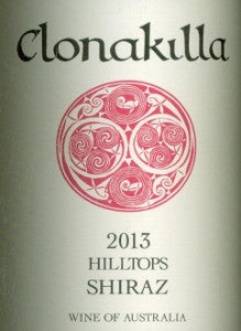 Clonakilla Hilltops Shiraz 2013 750ml, Canberra District