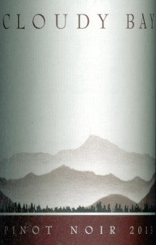 Cloudy Bay Pinot Noir 2013 750ml, Marlborough