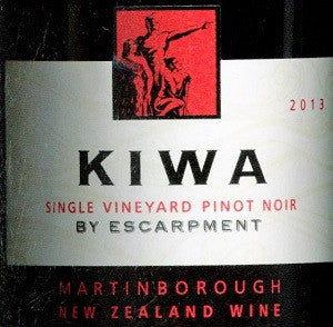 Escarpment Kiwa Pinot Noir 2013 750ml, Martinborough