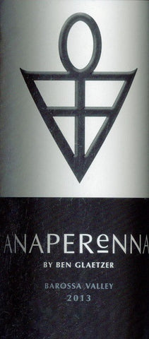 Glaetzer Anaperenna Shiraz 2013 750ml, Barossa Valley